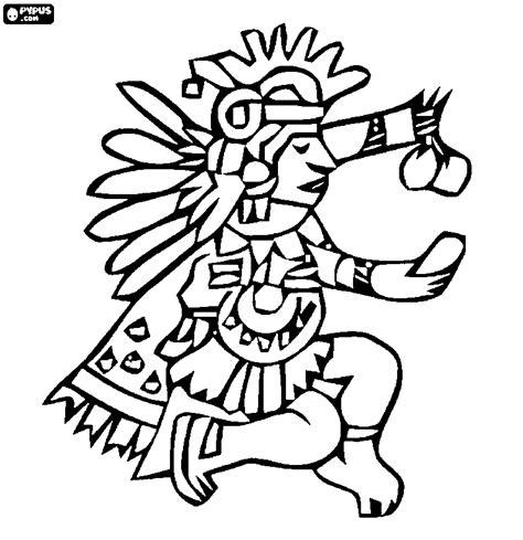 imagenes aztecas para descargar aztec coloring pages getcoloringpages com