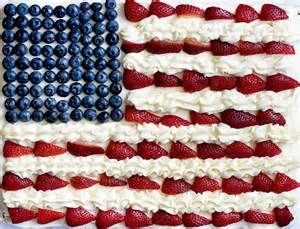 4th of july flag cake images
