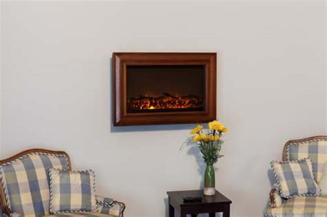 sense wall mounted electric fireplace with heater and