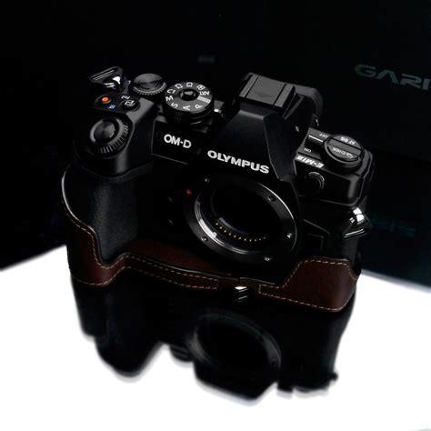 Gariz Half Olympus Xs Em5iiabr gariz leather half for olympus e m1 ii brown