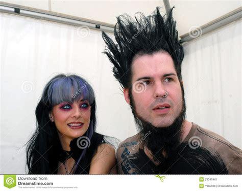 wayne static hair tutorial tera wray and wayne static editorial photo image of
