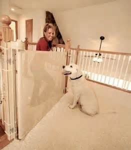 retractable dog gates for the house retractable dog gate pet gate and dog gates on pinterest