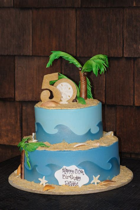 themed birthday cakes for adults tiered beach themed birthday cake adult birthday cakes