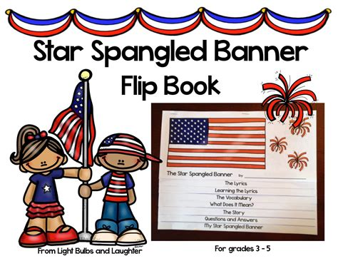 coloring page of the star spangled banner light bulbs and laughter the star spangled banner s birthday