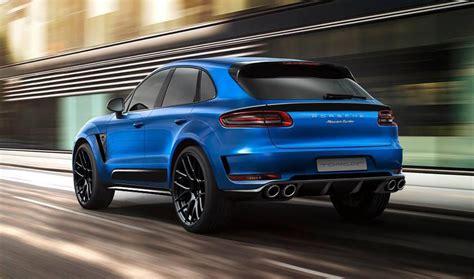 Porsche Macan Tuning by Tuning Porsche Macan Par Topcar