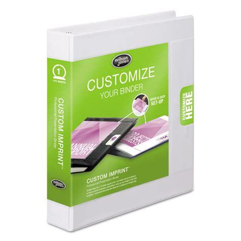 superwarehouse custom imprint presentation binder 1