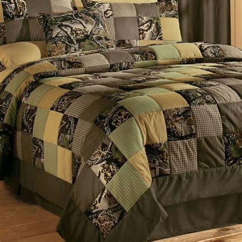 Camo Patchwork Quilt - camo quilt really want to make one quilts i want to