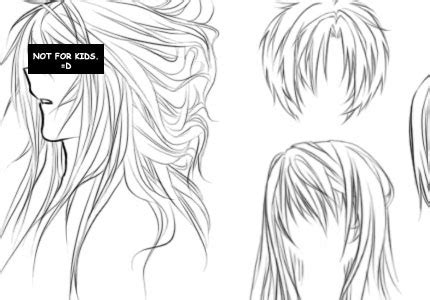 manga hairstyle short long front sides anime blog anime hair