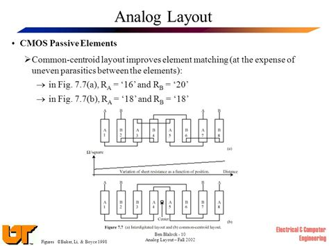 cmos layout elements analog layout ppt video online download