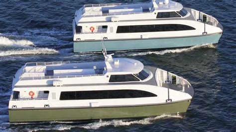 catamaran boats for sale bc catamaran passenger ferry by all american marine youtube