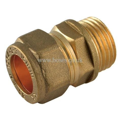 Plumbing Compression Fitting by Bspp X Metric Coupling Metric Brass