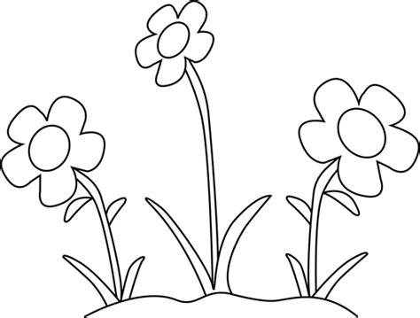 black and white flower clip black and white flower clip clipart