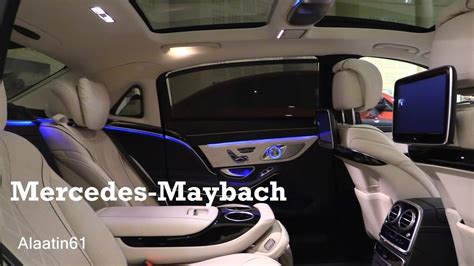 inside maybach 2017 mercedes maybach interior review