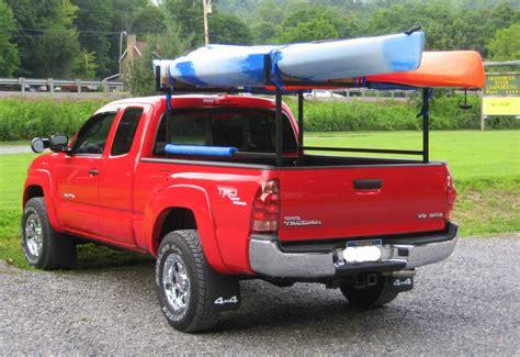toyota ta bed rack canoe kayak racks for your taco tacoma world