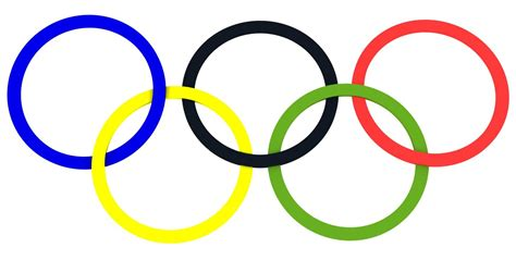 Olympic Rings Clipart olympic symbols clip clipart best
