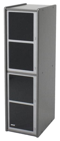 Wooden Disc Towers :: One Touch CD/DVD Cabinet   Hip