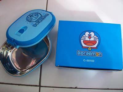 Box Makan Steanles Doraemon 1 tempat makan stainless doraemon micha shop