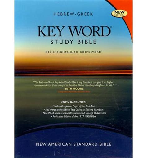 insights into scripture books hebrew key word study bible nasb key insights into
