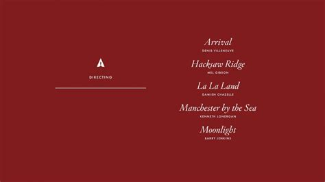 oscar nominations 2017 best actress here are the 2017 oscar nominations complete list