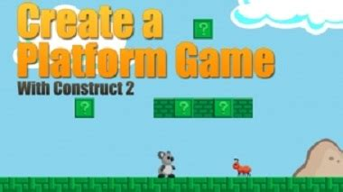 construct 2 tutorial platform game udemy platform game creation with construct 2 html5