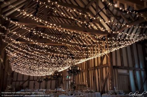 Micklefield Hall Widthways Fairy Light Canopy Light Canopy