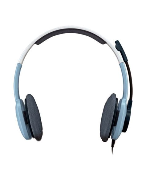 Headset Logitech H250 buy logitech stereo headset h250 blue at best price in india snapdeal