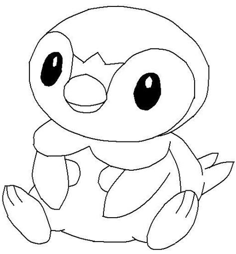 free coloring pages of cute penguins