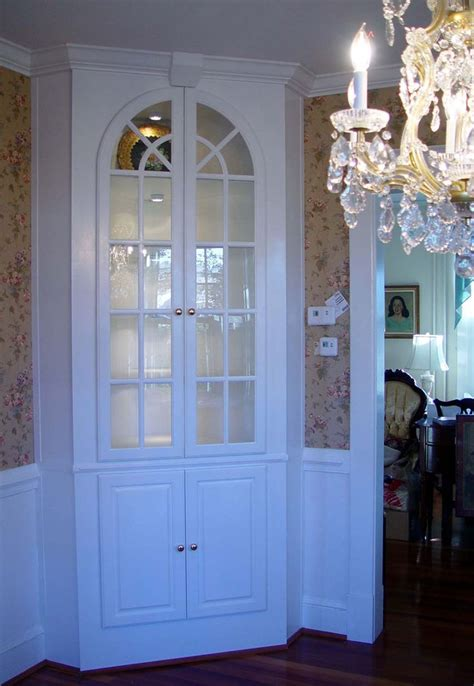 build  corner china cabinet woodworking projects