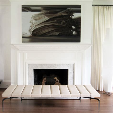 How To Add The Wow Factor Through Modern Wall Art Painting The Fireplace
