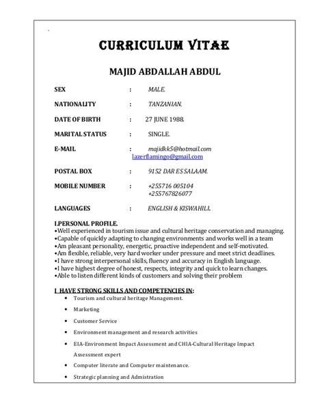 new curriculum vitae majid cv new