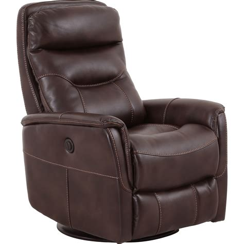 power glider recliner chair living gemini contemporary swivel glider power