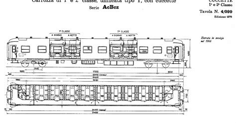 carrozza cuccette uic y scalaenne note sparse treni ferrovie e loro