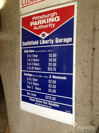 Mito 560 By Central Phone S smithfield liberty garage parking in pittsburgh parkme