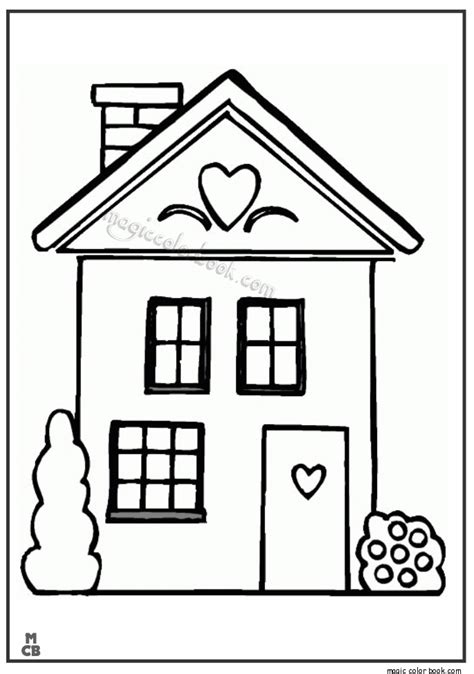 printable coloring pages of a house big house cartoon printable coloring pages