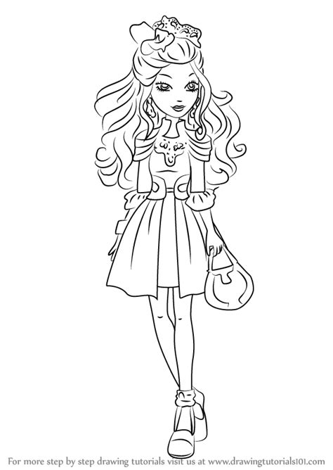 ever after high darling charming coloring pages learn how to draw darling charming from ever after high