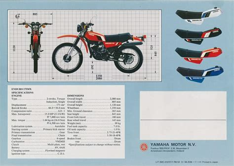 1975 yamaha dt 175 wiring diagram 33 wiring diagram