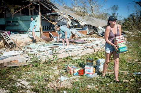 boat salvage hurricane michael search teams comb debris for victims of deadly hurricane