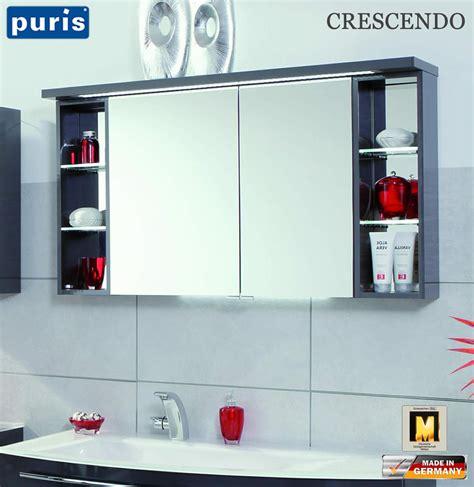 spiegelschrank puris puris crescendo led spiegelschrank 120 cm s2a431226r
