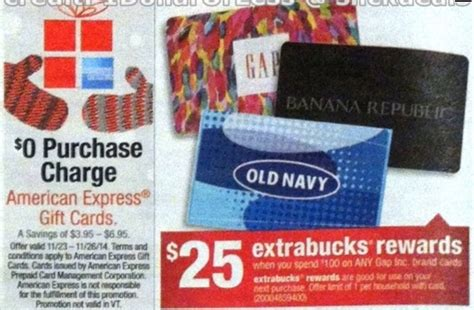 Black Friday Gift Card Specials - cvs pre black friday two great gift card deals