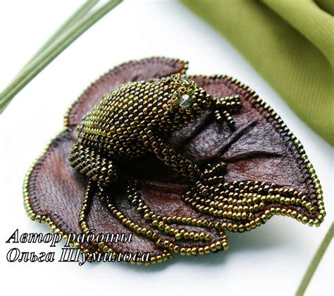 the beaded frog beaded frog jewelry ideas