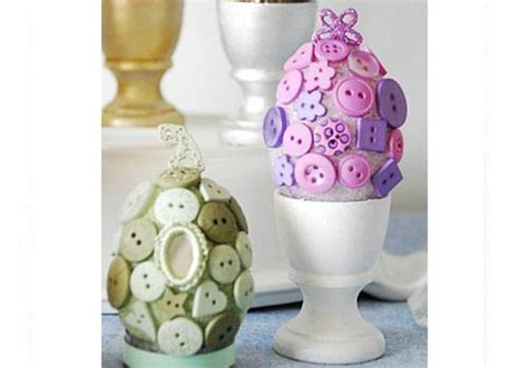 decorare oua paste copii oua decorate cu nasturi copilul ro