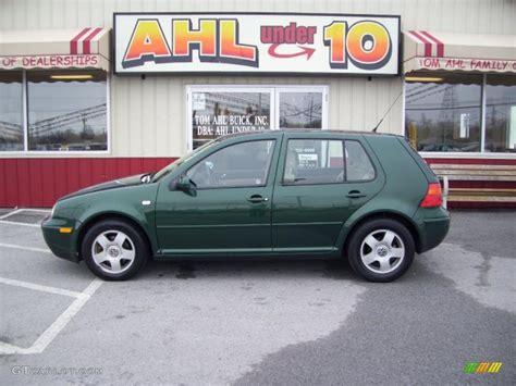 green volkswagen golf 2000 bright green pearl volkswagen golf gls 4 door
