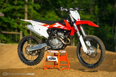 Ktm Sx350 2016 Ktm Sx F Motorcross Ride Photos Motorcycle Usa