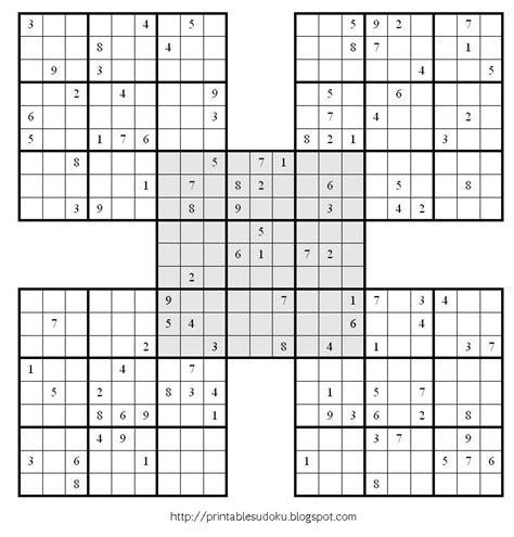 printable sudoku challenge printable sudoku