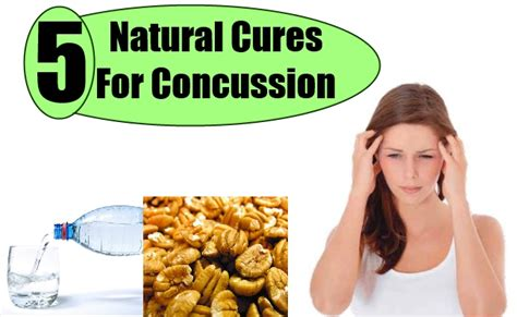 5 valuable tips on how to cure concussion naturally