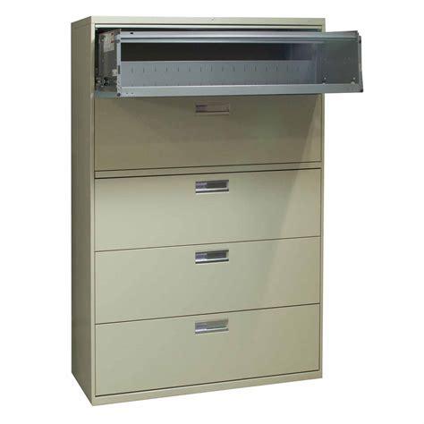 Hon 600 Series Lateral File Cabinet Hon Brigade 600 Series Used 5 Drawer 42 Inch Lateral File Hon 600 Series Lateral File Cabinet