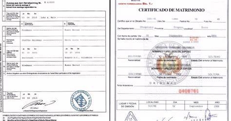 certificado de matrimonio al ingles traducir certificado de matrimonio traducci 243 n jurada traductor
