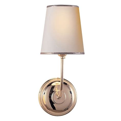 visual comfort lighting lights visual comfort thomas obrien vendome 1 light wall light in