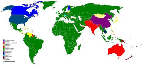 most popular sport by country sports