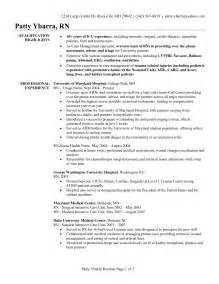Telemetry Sle Resume by Pre Op Cover Letter